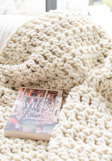 How to Crochet a Chunky Blanket