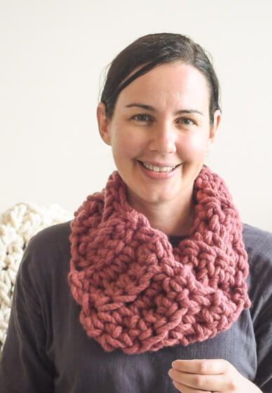 How to Crochet a Melbourne Snood