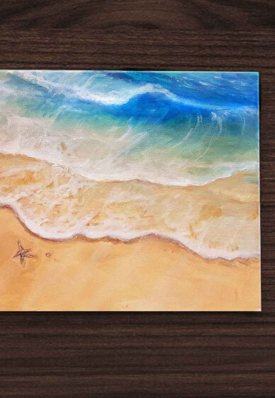 How to Paint an Ocean Masterpiece at Home