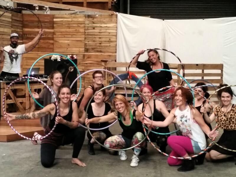 Hula Hoop Dance and Fitness Class: St Kilda