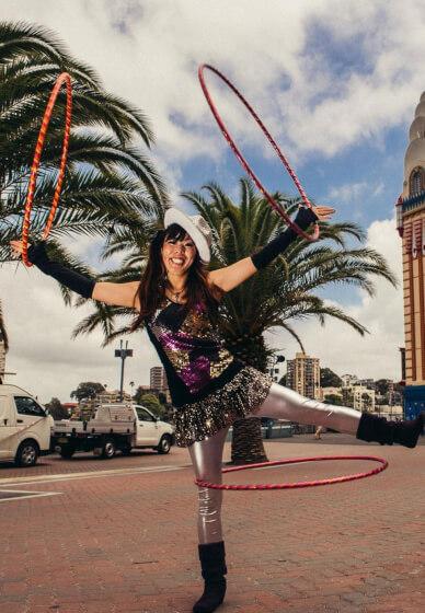 Hula Hoop Workshop for Adults
