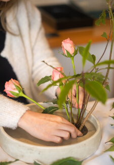 Ikebana Floristry Class for Beginners