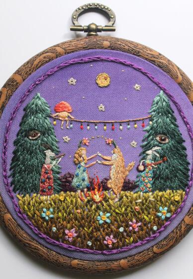 Illustrative Embroidery Workshop