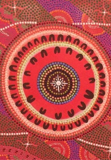 Indigenous Art Class - Group Canvas