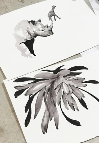 Ink Drawing Class