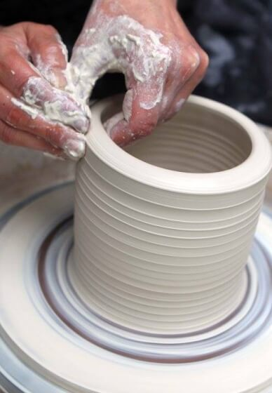 Introduction to Pottery Wheel Throwing Class