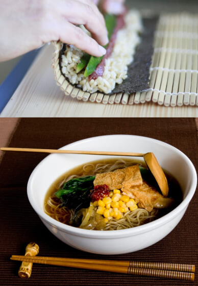 Japanese Ramen and Sushi Cooking Class (Intensive)
