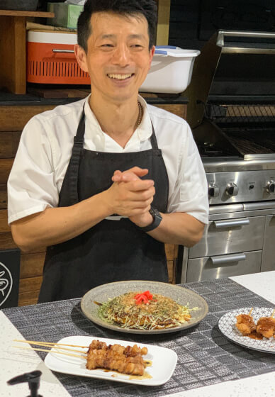 Japanese Street Food Cooking Class