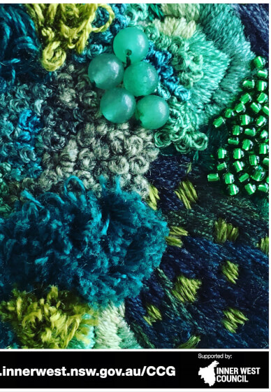 Jewelled Moss Embroidery Class