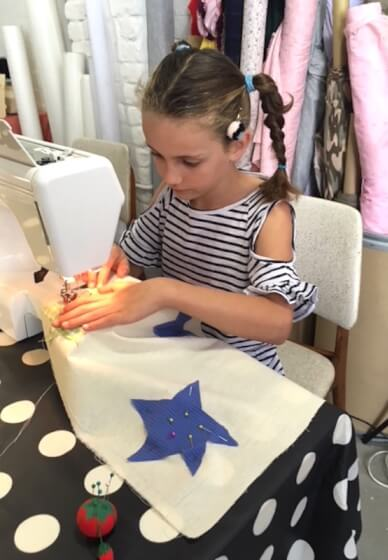 Kids and Teens Introduction to Sewing Course