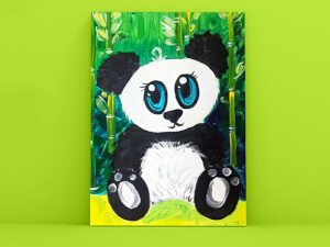 Kids Painting Class - Playful Panda