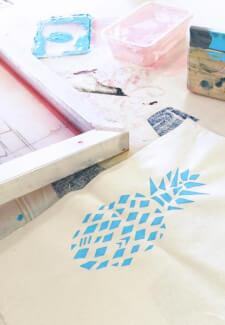 Kids Screen Printing Workshop