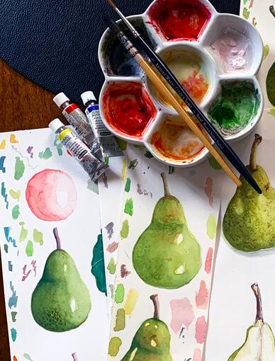 Learn Botanical Watercolour Art