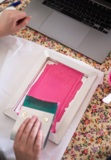 Learn Screen Printing at Home