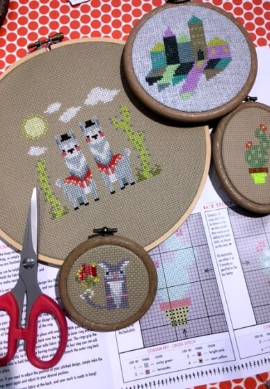 Learn to Cross Stitch Workshop