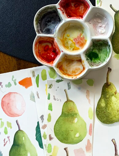 Learn Watercolour Painting at Home