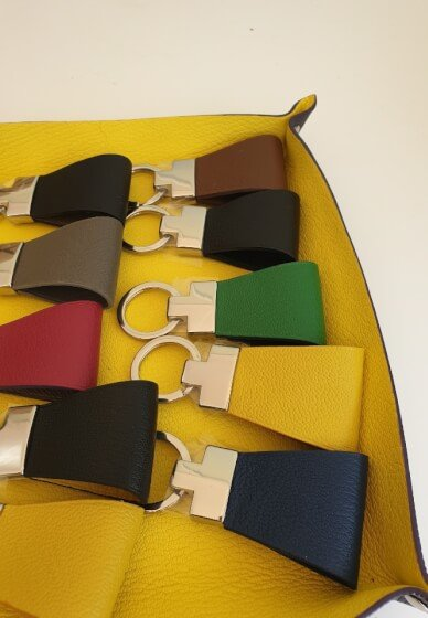 Leather Key Ring Making Class
