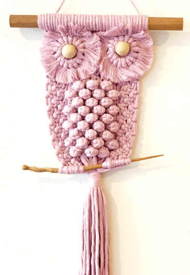 Macrame Owl Workshop