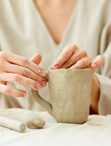 Make a Ceramic Mug at Home