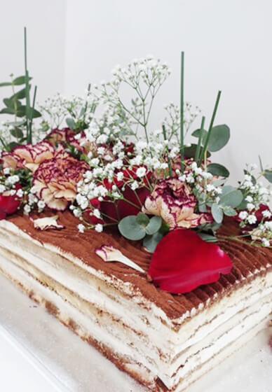Make a Layered Tiramisu Cake