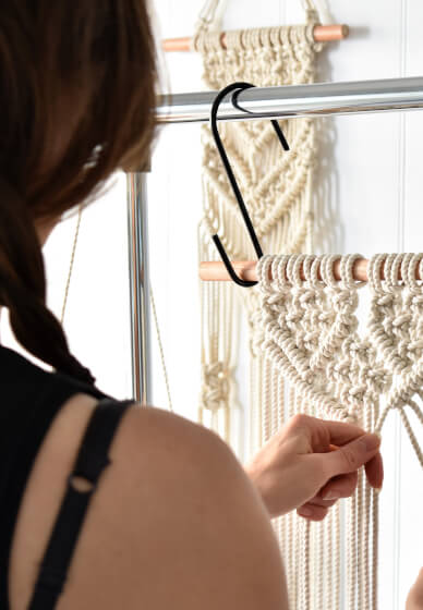 Make a Macrame Wall Hanging Workshop