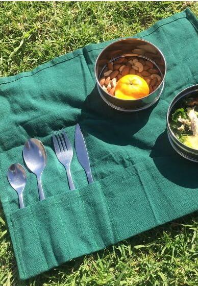 Make a Reusable Cutlery Kit