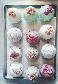 Make Your Own Natural Bath Bombs Class