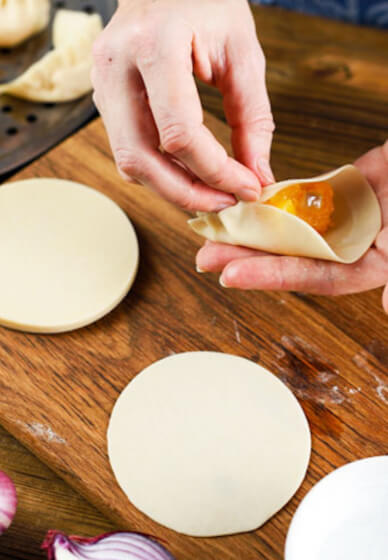 Making Dumplings Cooking Class