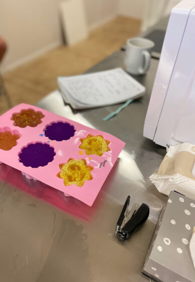 Melt and Pour Soap Making Class for Beginners