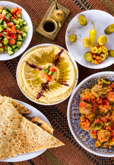Middle Eastern Cooking Class