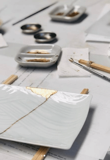 Mindful Art Kintsugi at Home