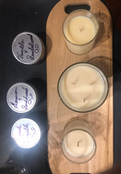 Mobile Natural Wax Candle Making Workshop