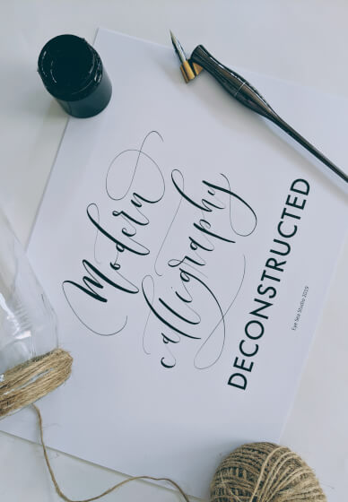 Modern Calligraphy Deconstructed