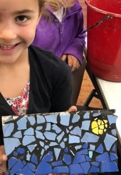 Mosaic Class for Kids (5-12 Years)