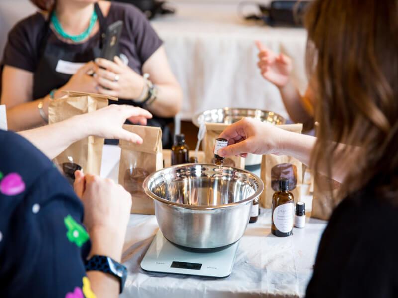 Natural Skincare Making School Holiday Workshop