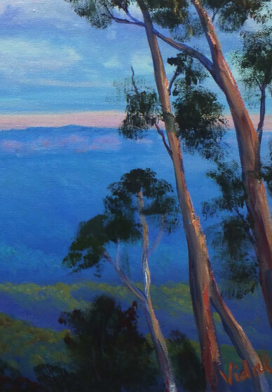 Oil Painting Class - the Blue Mountains