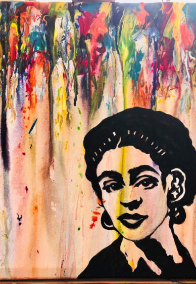Paint and Sip Class: Abstract Frida