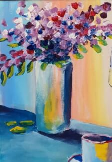 Paint and Sip Class - Afternoon Tea (Jan 2)