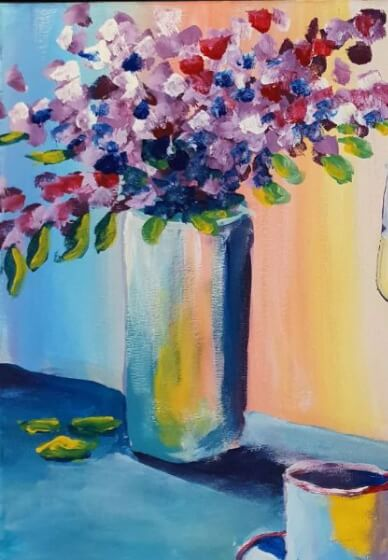 Paint and Sip Class - Afternoon Tea (Mar 22)