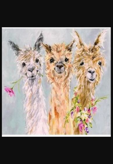 Paint and Sip Class - Alpaca Gang (Oct 27)