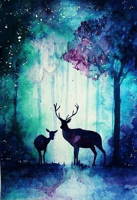 Paint and Sip Class - Bambi (Nov 18)