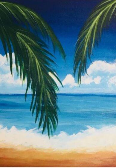 Paint and Sip Class: Beach Paradise