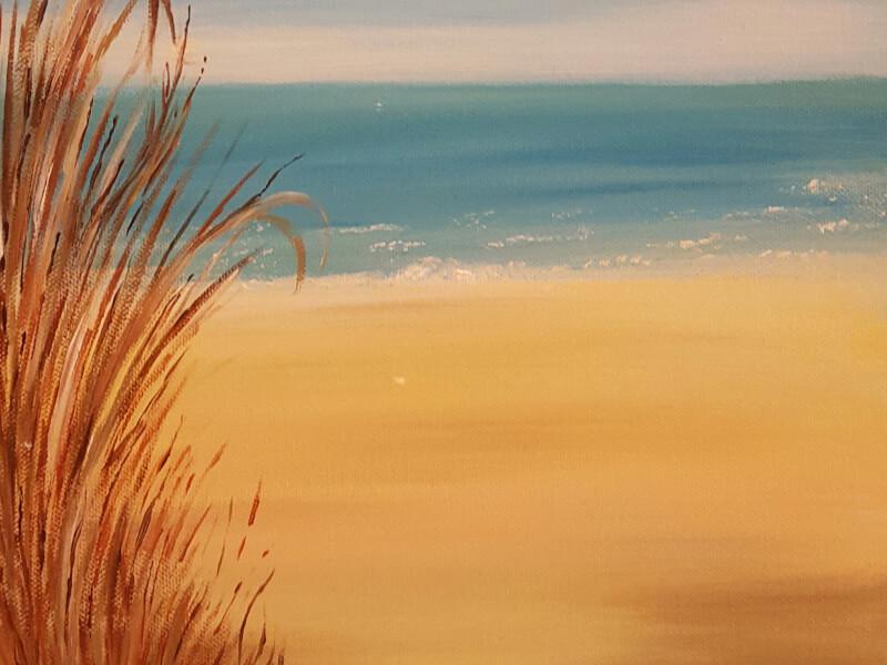 Paint and Sip Class: Beachside Bliss