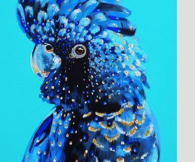 Paint and Sip Class - Blue Cockatoo (Aug 26)