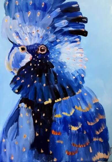 Paint and Sip Class - Blue Cockatoo (Feb 27)