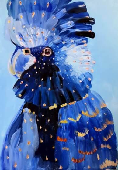 Paint and Sip Class - Blue Cockatoo (Jan 26)