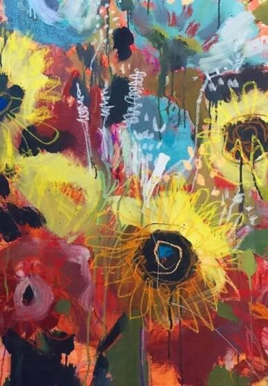 Paint and Sip Class - Flower Frenzy (Sep 12)