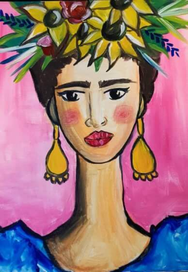 Paint and Sip Class - Frida (Jan 20)