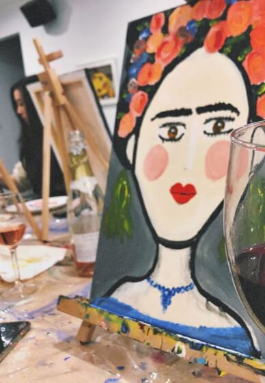 Paint and Sip Class: Frida Kahlo