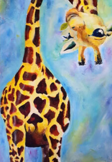 Paint and Sip Class - Giraffe (Jan 24)